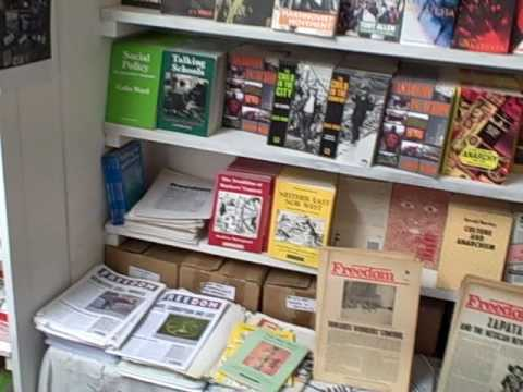 Anarchist bookstore in London. Inside the Freedom Press!