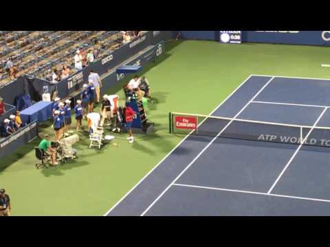 Nick Kyrgios gets booed at Citi Open after retiring with injury against Tennys Sandgren