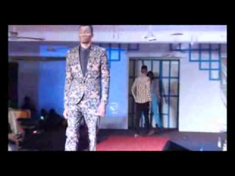 Mr shine for WIUC fashion show ( wisconsin international university college, Accra Ghana )