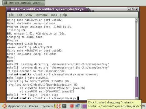 Contiki 2.4 GHz Radio Activity Scanner