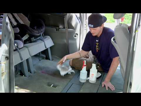 Auto Detailing : How to Get Rid of Vomit Smell in a Car