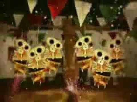Animacion de Dia de Muertos - 2 de Noviembre [Mexicano]