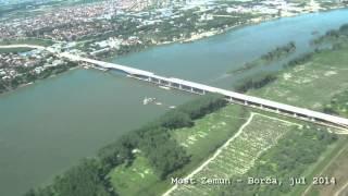 Most Zemun Borča, jul 2014 - www.lobi-info.rs