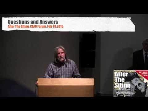 CAFO After the Siting: Q & A