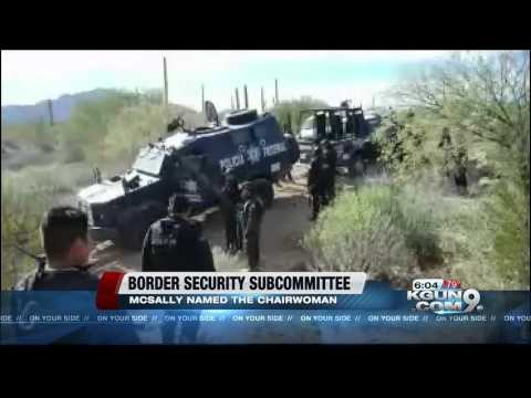 Rep. McSally to Lead Border Security Subcommittee