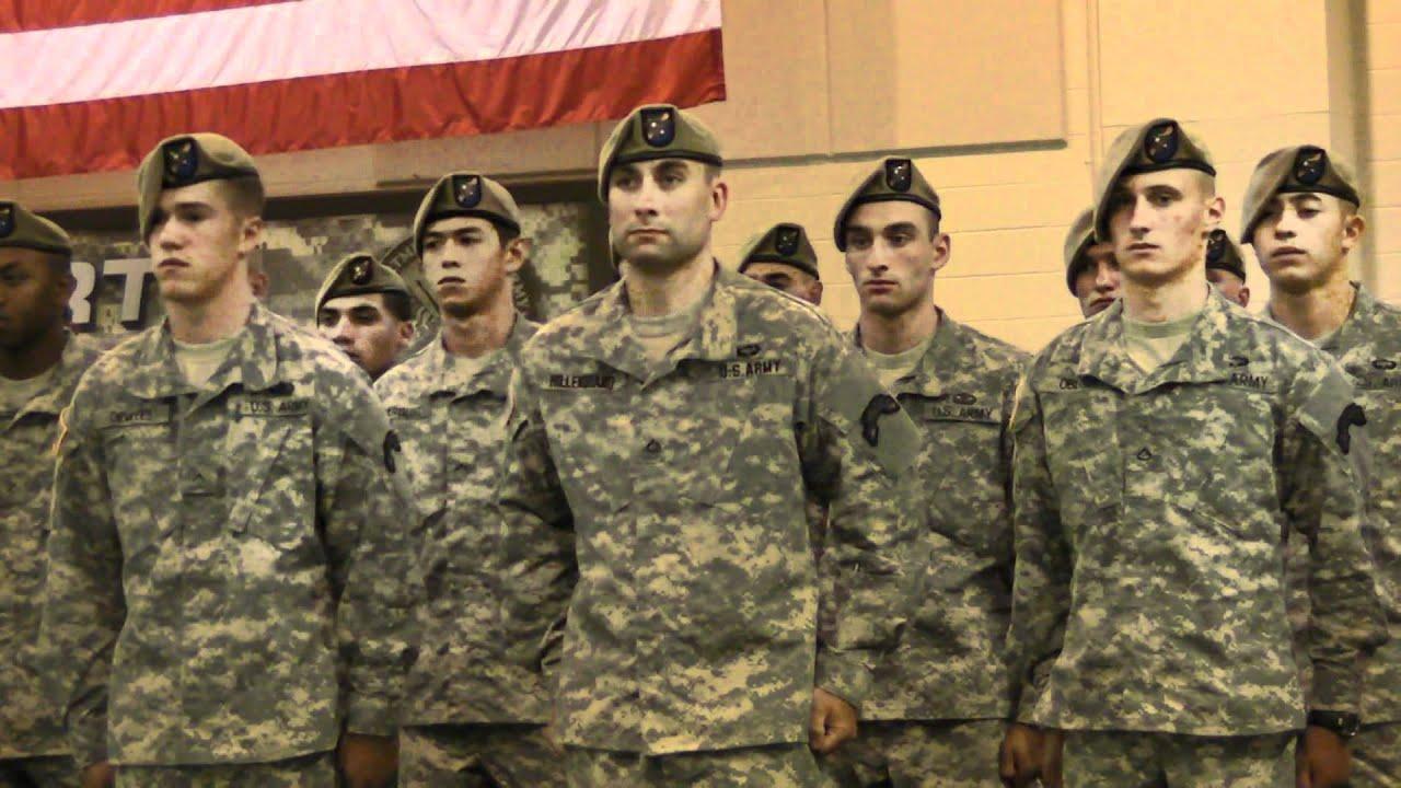 Graduation Fort Airborne 2012 Benning