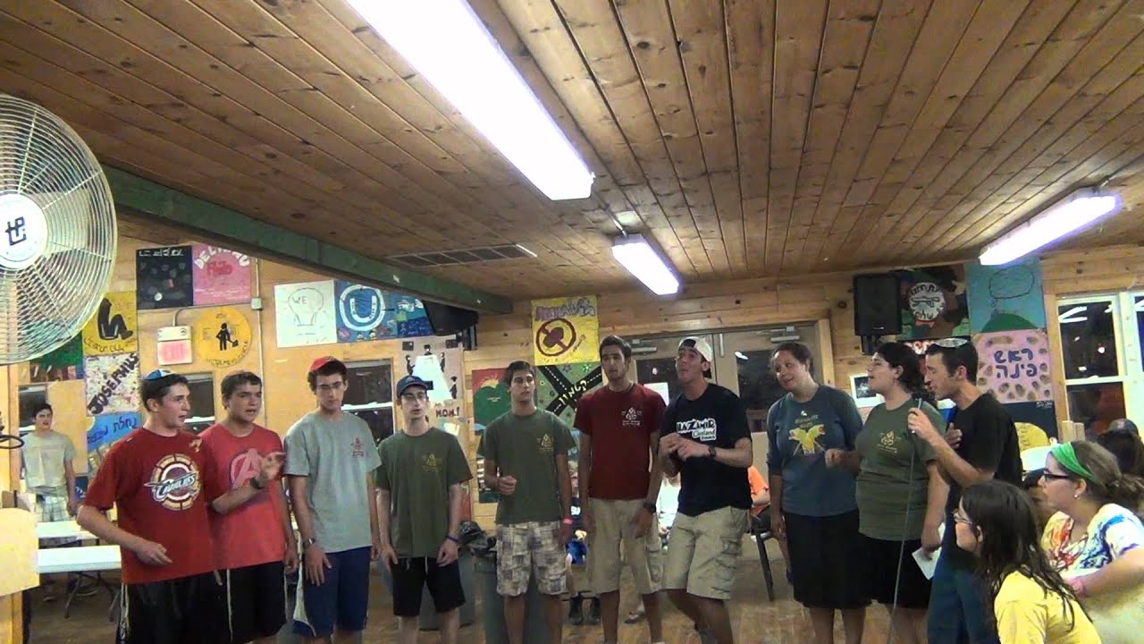 camp stone 1st 2012 tzevet a 39 cappella youtube