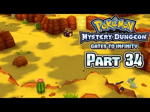 Pokémon Mystery Dungeon Gates to Infinity Part 34: Scorching Desert!