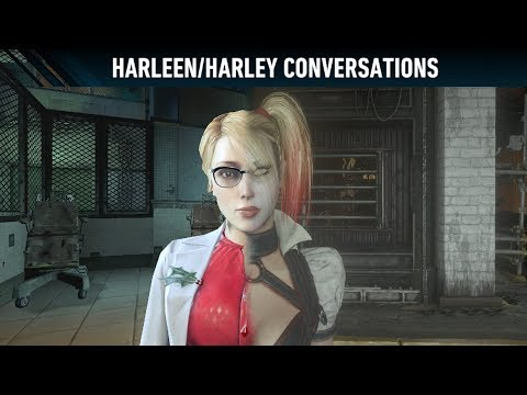 AUDIO; Batman; Arkham Knight; Harleen/Harley Conversations