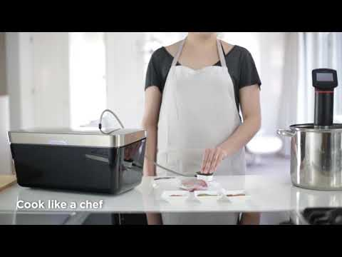 Vacuvita: Automatic Vacuum Sealer for Sous-Vide Cooking and Food Storage