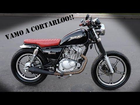 Cambio Asiento GN 125    Estilo Cafe Racer