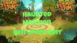 Decorating Animal Jams Haunted Mansion {Speed edit!!}