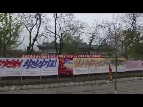 Myohyangsan, North Pyongan, North Korea - DPRK - MAY 2016, UltraHD, 4K