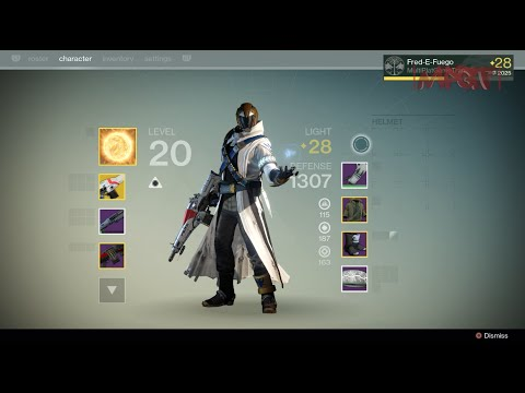 Warlock build amp exotic weapons destiny ps4 1080p hd youtube