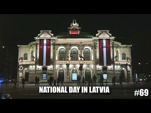 NATIONAL DAY IN RIGA, LATVIA | European Bike Tour #69