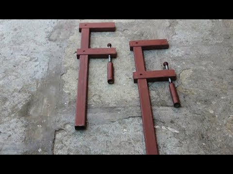 Homemade F Clamps