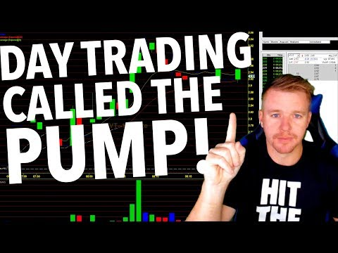 DAY TRADING LIVE! CALLING THE PUMP $390