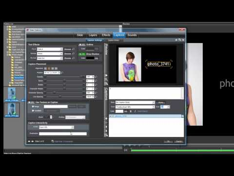 Caption Interactivity Tutorial for ProShow Producer