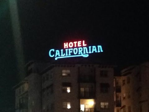 Hotel Californian neon sign dedication and Paseo at the Californian ribbon cutting (March 9, 2017)