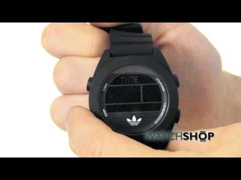 58d57625d7c5 Adidas Men's Santiago XL Digi Alarm Chronograph Watch (ADH2907)