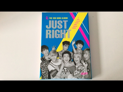 ♡Unboxing GOT7 갓세븐 3rd Mini Album Just Right 딱 좋아♡