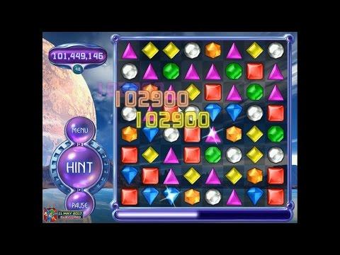 Bejeweled 2 (PC) - Hyper Mode SLOMO (136M, 52 Levels)[1080p60]