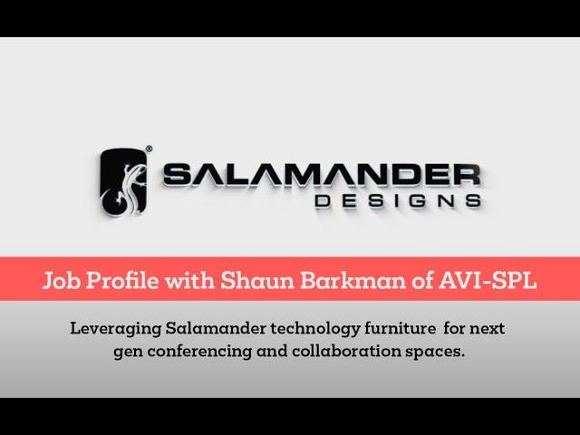 Salamander Designs Job Profile with AVI-SPL