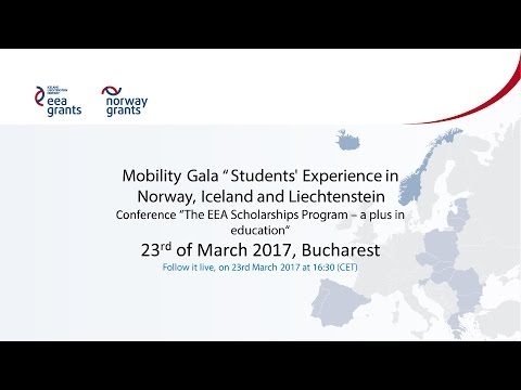 """Mobility Gala"" Students' Experience in Norway, Iceland and Liechtenstein"