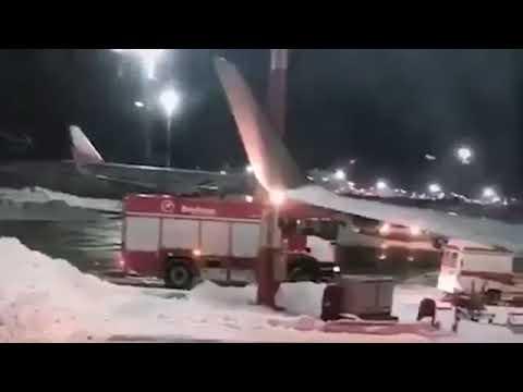 Аварийная посадка Boeing 737 UtAir Москва - Сургут