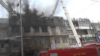Fire At SADAR BAZAR On 9 June 2012