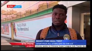 Sportpesa All Stars jet out of the country to face Hull City at the KCOM Stadium in England