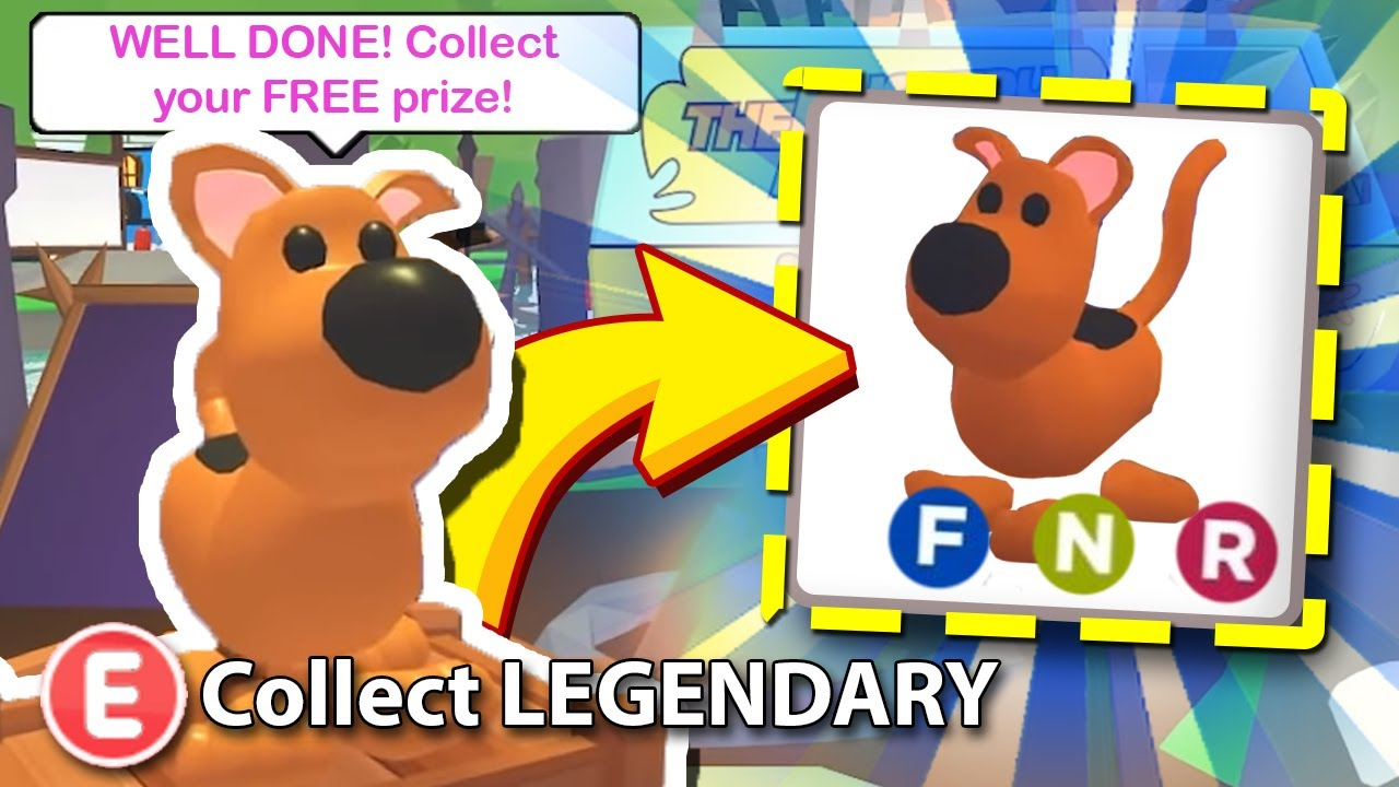 New How To Get The Legendary Scooby Doo Pet Free In Adopt Me Adopt Me Scoob Update Roblox Youtube