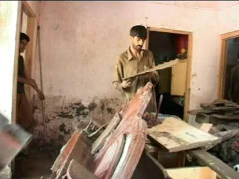 aaj tv  flood  in muzaffarabad from asif raza mir muzaffarabad azad kashmir pakistan