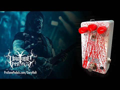 Gary Holt Signature Pedal from Pro Tone Pedals