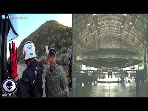 Held At Gunpoint By Area 51 Spooks! Alien Moon Launch Exposed? 10/12/16