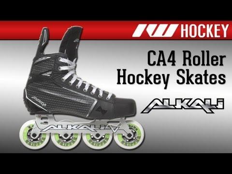 Alkali CA4 Roller Hockey Skates 2012