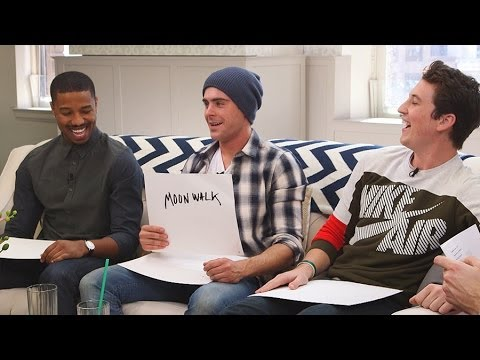 Zac Efron, Miles Teller, and Michael B. Jordan Play