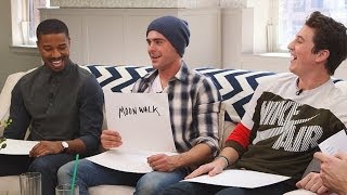 "Zac Efron, Miles Teller, and Michael B. Jordan Play ""How Well Do You Know Your Bro"""