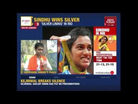 PV Sindhu Dedicates Olympic Win To Coach Gopichand, Family