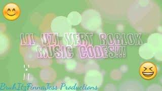 Lil Uzi Vert Roblox Music Ids Codes..