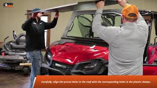 Honda Pioneer 1000-5 Full Cab and Pioneer 1000 Single Cab Roof Installation