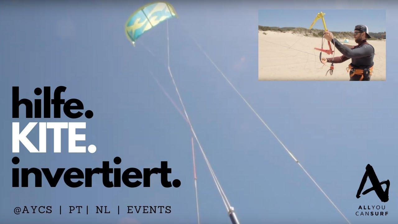 Kitesurfen Kiteboarding Kite Leine