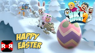 Ski Safari 2 - New Happy Easter Update - All Easter Items Unlocked