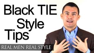 How To Wear A Tuxedo - Black Tie Style Tips - Men