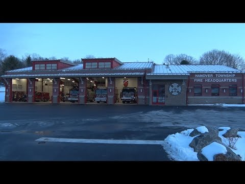 Hanover Township,PA Fire Department New Firehouse Dedication 1/20/18