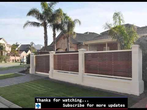 Privacy Fence Ideas Fences Amp Gates Design Youtube