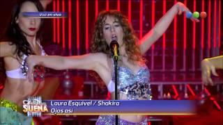 Laura Esquivel es Shakira - Tu Cara me Suena 2015