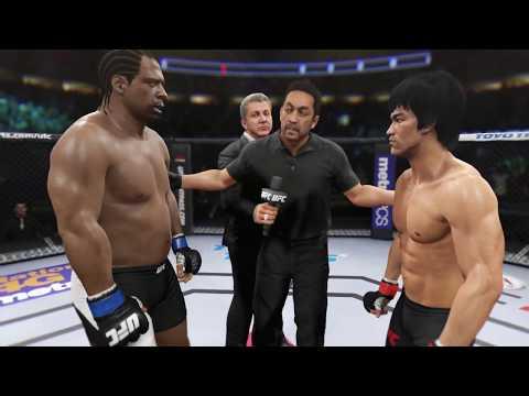 Bruce Lee vs. Ghost Dog (EA Sports UFC 2) - CPU vs. CPU