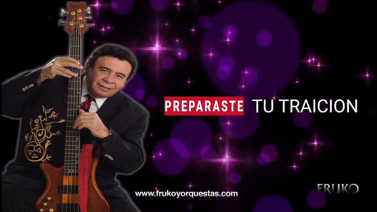 Fruko y sus Tesos - Preparaste tu traición (Video Lyrics)