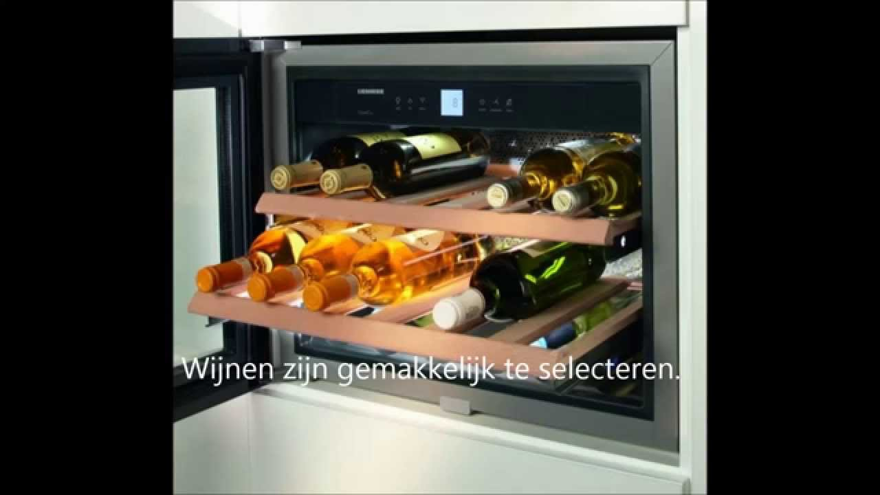 liebherr wkees 553 grandcru cavepromotor youtube. Black Bedroom Furniture Sets. Home Design Ideas